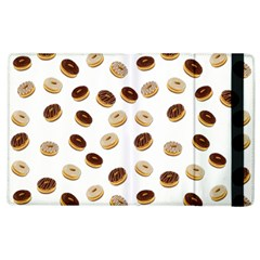 Donuts Pattern Apple Ipad 2 Flip Case by Valentinaart