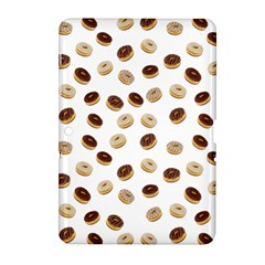 Donuts Pattern Samsung Galaxy Tab 2 (10 1 ) P5100 Hardshell Case  by Valentinaart