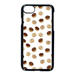 Donuts Pattern Apple Iphone 7 Seamless Case (black)