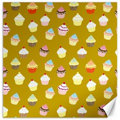 Cupcakes Pattern Canvas 12  X 12