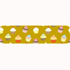 Cupcakes Pattern Large Bar Mats by Valentinaart