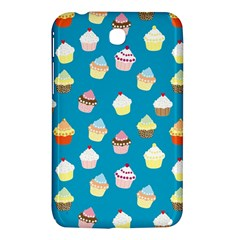 Cupcakes Pattern Samsung Galaxy Tab 3 (7 ) P3200 Hardshell Case  by Valentinaart