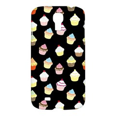 Cupcakes Pattern Samsung Galaxy S4 I9500/i9505 Hardshell Case by Valentinaart