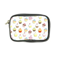 Cupcakes Pattern Coin Purse by Valentinaart