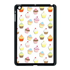 Cupcakes Pattern Apple Ipad Mini Case (black)