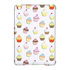 Cupcakes Pattern Apple Ipad Mini Hardshell Case (compatible With Smart Cover)