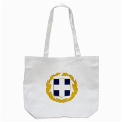 Greece National Emblem  Tote Bag (white) by abbeyz71
