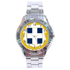 Greece National Emblem  Stainless Steel Analogue Watch by abbeyz71