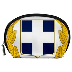 Greece National Emblem  Accessory Pouches (large)  by abbeyz71