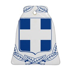 Greece National Emblem  Bell Ornament (two Sides) by abbeyz71