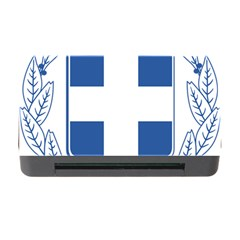 Greece National Emblem  Memory Card Reader With Cf by abbeyz71