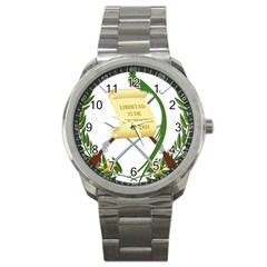 National Emblem Of Guatemala  Sport Metal Watch by abbeyz71