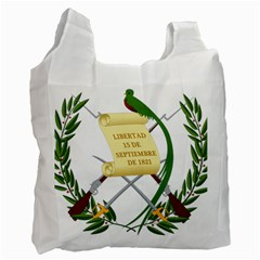 National Emblem Of Guatemala  Recycle Bag (one Side) by abbeyz71