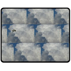 Stevie Sleeping In The Clouds Fleece Blanket (medium)
