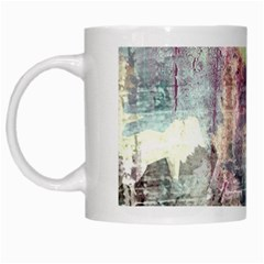 Frosty Pale Moon White Mugs by digitaldivadesigns