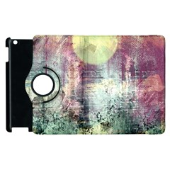 Frosty Pale Moon Apple Ipad 2 Flip 360 Case by digitaldivadesigns