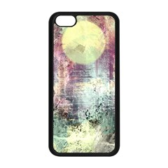 Frosty Pale Moon Apple Iphone 5c Seamless Case (black) by digitaldivadesigns