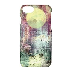 Frosty Pale Moon Apple Iphone 7 Hardshell Case by digitaldivadesigns