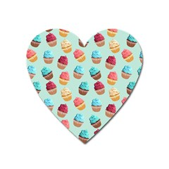 Cup Cakes Party Heart Magnet