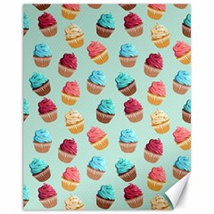 Cup Cakes Party Canvas 11  X 14   by tarastyle