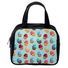 Cup Cakes Party Classic Handbags (one Side)