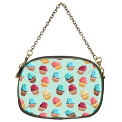 Cup Cakes Party Chain Purses (two Sides)