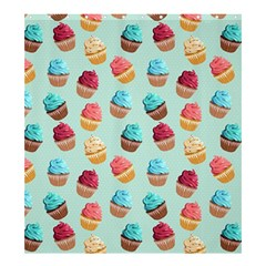 Cup Cakes Party Shower Curtain 66  X 72  (large)  by tarastyle
