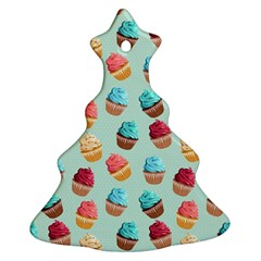 Cup Cakes Party Ornament (christmas Tree)  by tarastyle