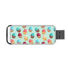 Cup Cakes Party Portable Usb Flash (one Side)
