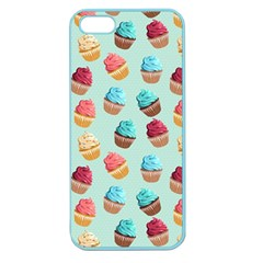 Cup Cakes Party Apple Seamless Iphone 5 Case (color) by tarastyle
