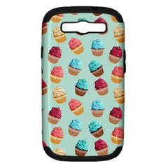 Cup Cakes Party Samsung Galaxy S Iii Hardshell Case (pc+silicone)