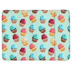 Cup Cakes Party Samsung Galaxy Tab 7  P1000 Flip Case
