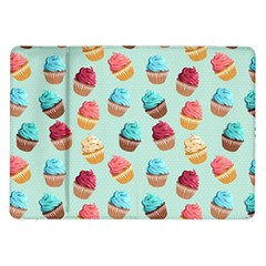 Cup Cakes Party Samsung Galaxy Tab 10 1  P7500 Flip Case by tarastyle