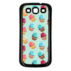 Cup Cakes Party Samsung Galaxy S3 Back Case (black)