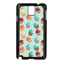 Cup Cakes Party Samsung Galaxy Note 3 N9005 Case (black)