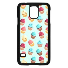 Cup Cakes Party Samsung Galaxy S5 Case (black)