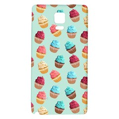 Cup Cakes Party Galaxy Note 4 Back Case