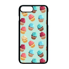 Cup Cakes Party Apple Iphone 7 Plus Seamless Case (black) by tarastyle