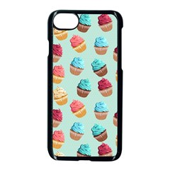 Cup Cakes Party Apple Iphone 7 Seamless Case (black) by tarastyle