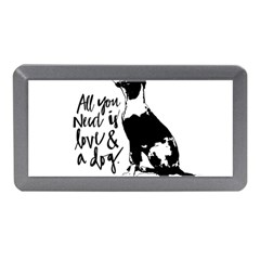 Dog Person Memory Card Reader (mini) by Valentinaart