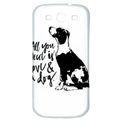 Dog Person Samsung Galaxy S3 S Iii Classic Hardshell Back Case by Valentinaart