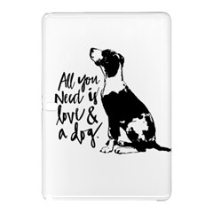 Dog Person Samsung Galaxy Tab Pro 12 2 Hardshell Case by Valentinaart