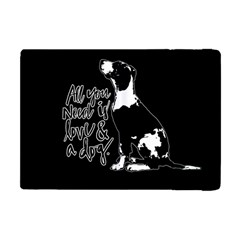 Dog Person Apple Ipad Mini Flip Case by Valentinaart