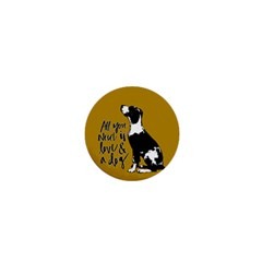 Dog Person 1  Mini Magnets by Valentinaart