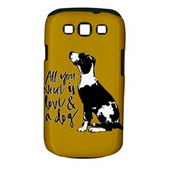 Dog Person Samsung Galaxy S Iii Classic Hardshell Case (pc+silicone) by Valentinaart