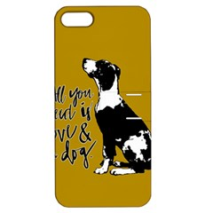 Dog Person Apple Iphone 5 Hardshell Case With Stand by Valentinaart