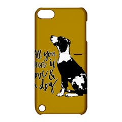 Dog Person Apple Ipod Touch 5 Hardshell Case With Stand by Valentinaart