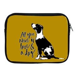 Dog Person Apple Ipad 2/3/4 Zipper Cases by Valentinaart