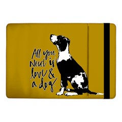 Dog Person Samsung Galaxy Tab Pro 10 1  Flip Case by Valentinaart