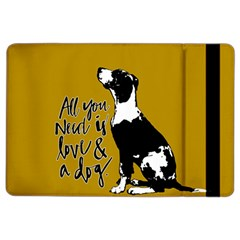 Dog Person Ipad Air 2 Flip by Valentinaart